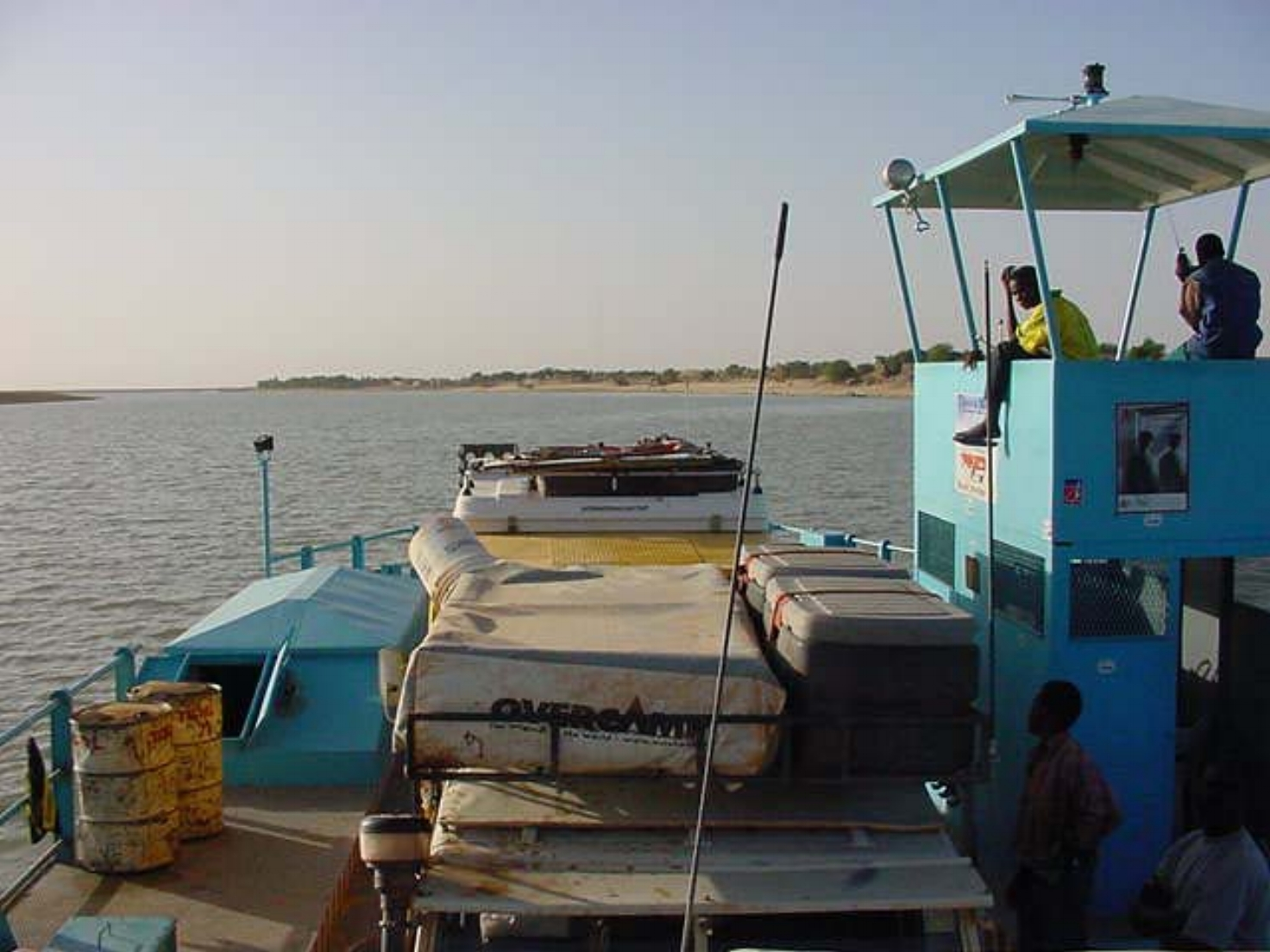 Ferry on the Niger River