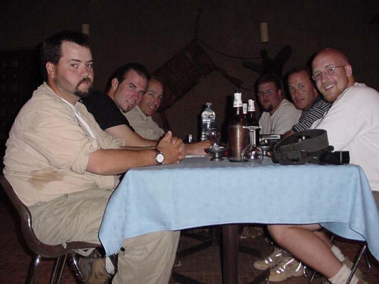 Beers at Hotel Azalai Timbuktu