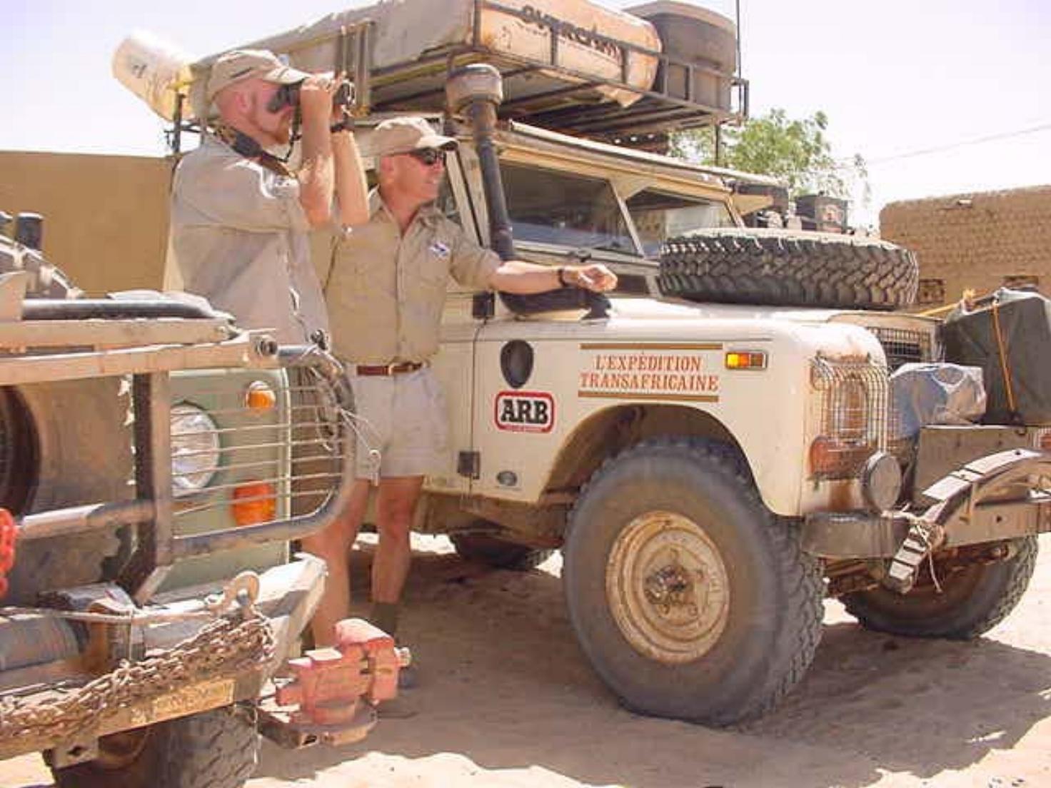 Al Cornell in Timbuktu Mali