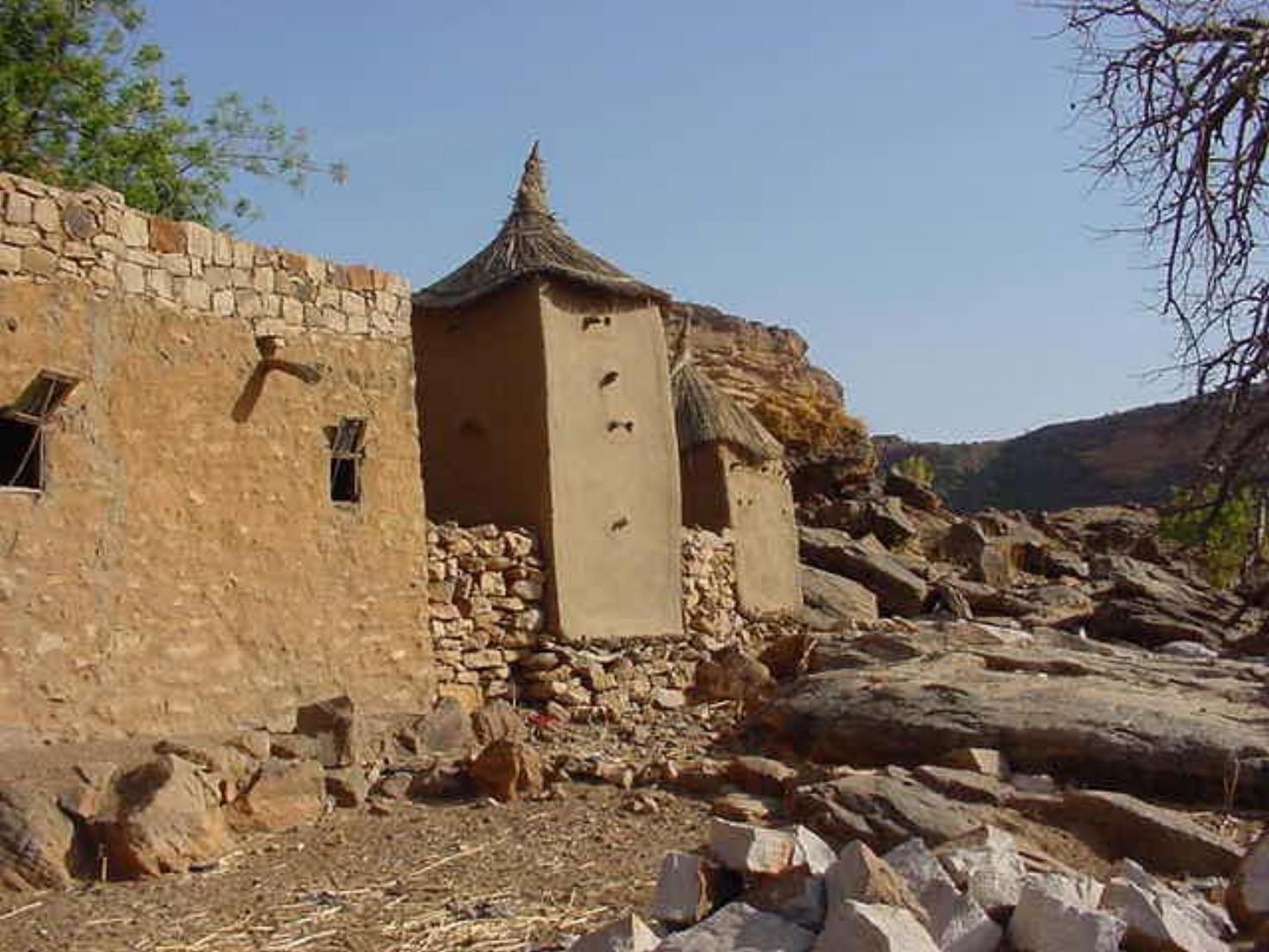 Dogon Huts