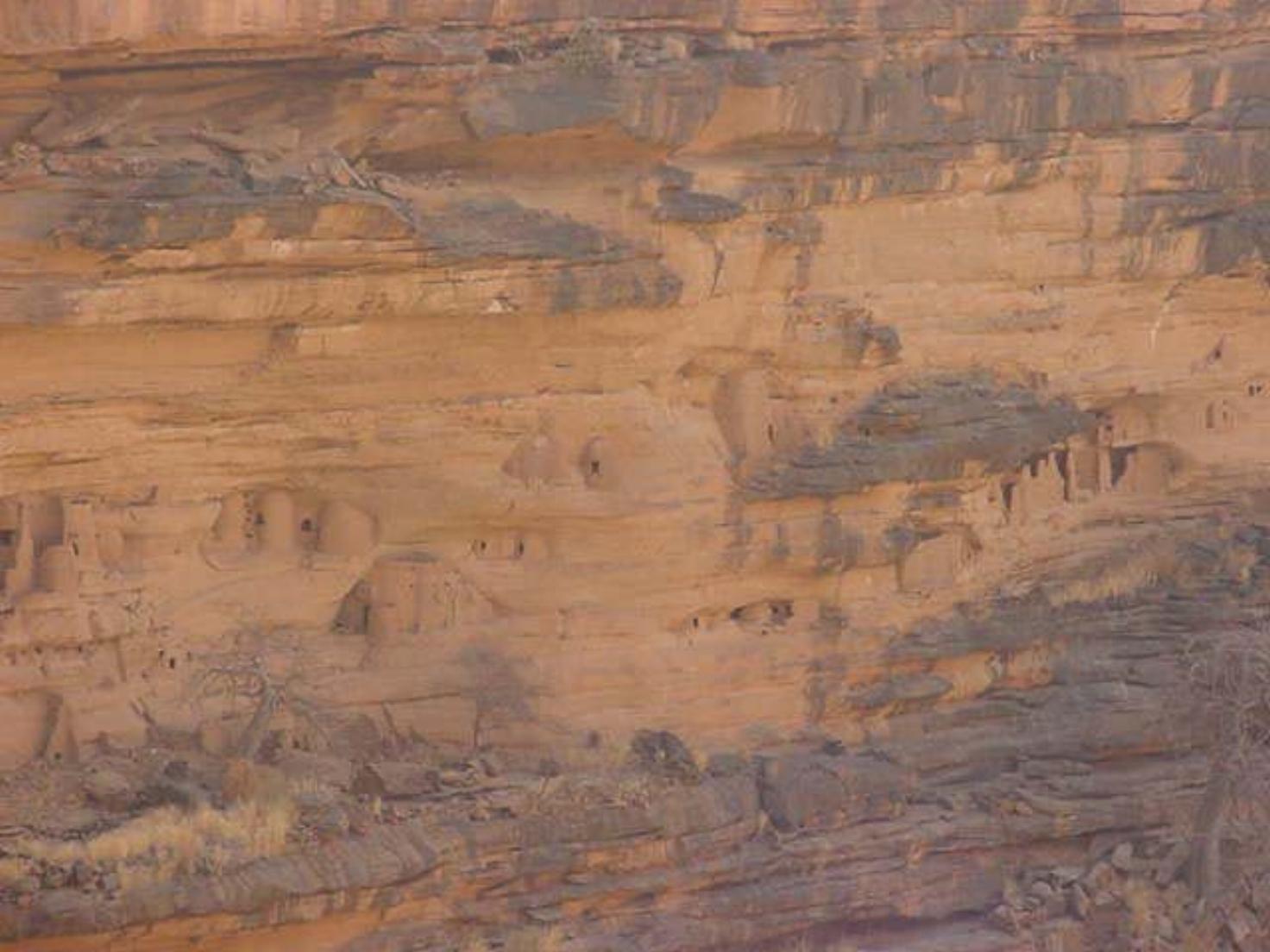 Bandiagara's sheer walls