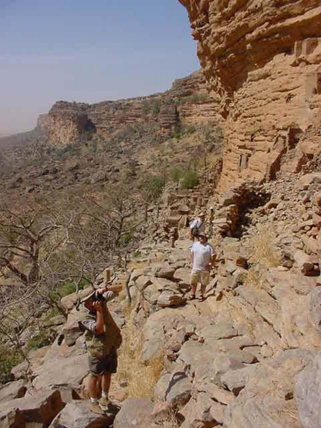 A day in the Dogon area is great exercise