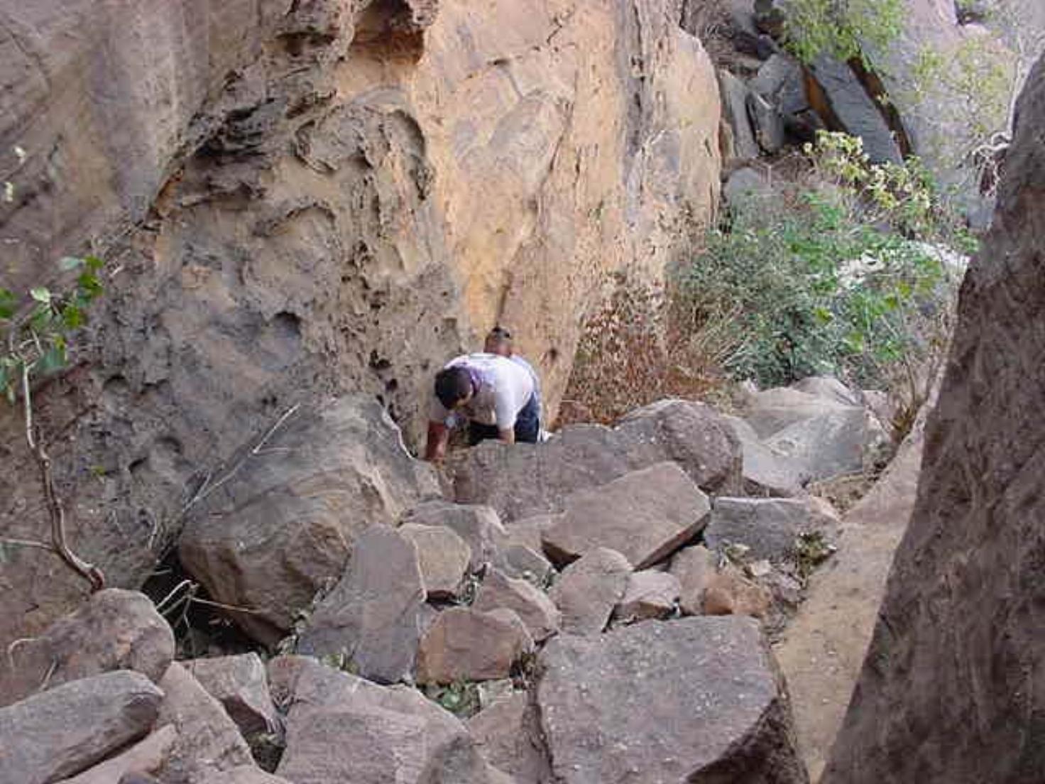 Climbing endless rocks