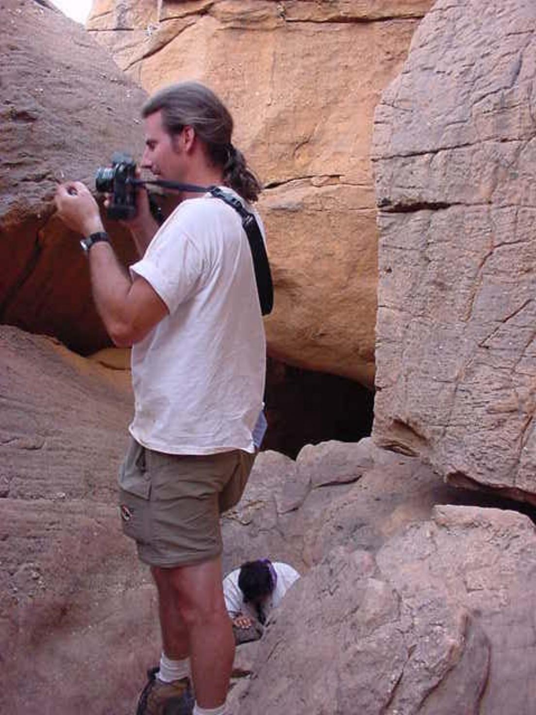 Jim Leach and his camera