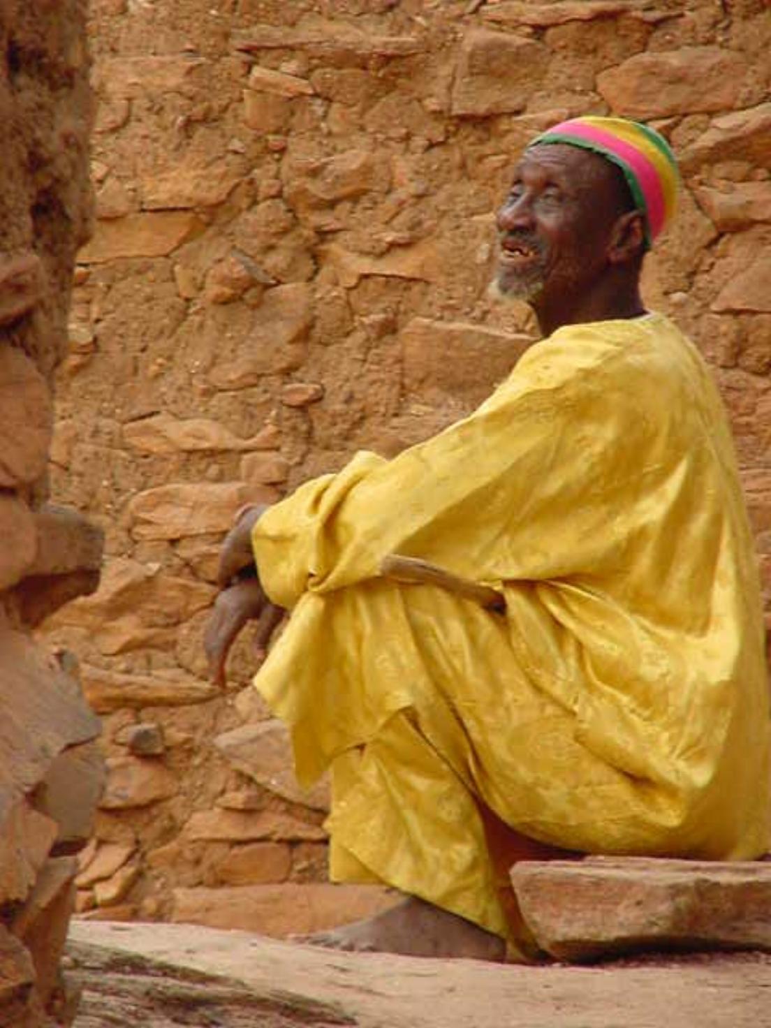 A Dogon village elder