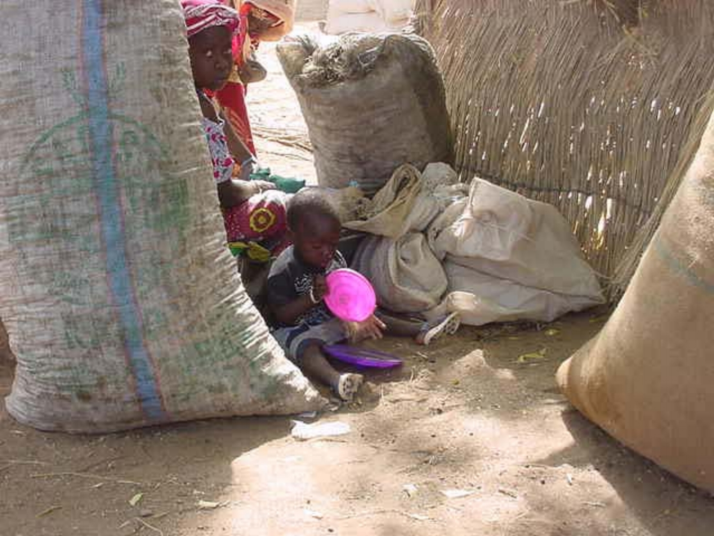 Mother & child in Djenne Mali