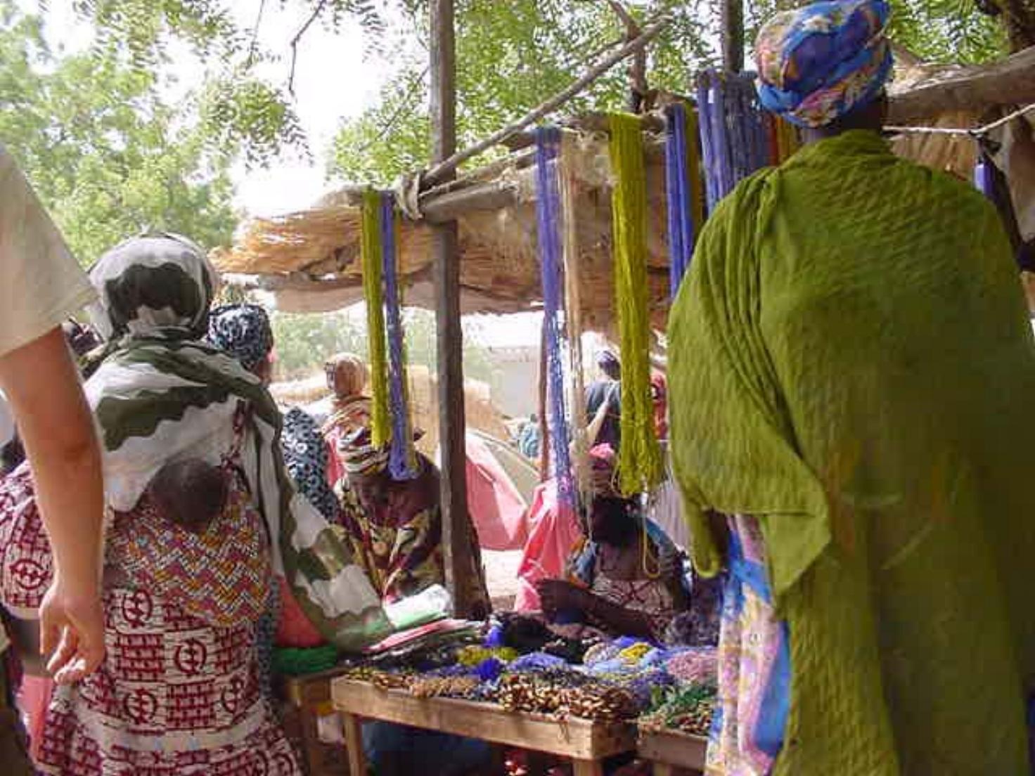 It's market day in Djenne