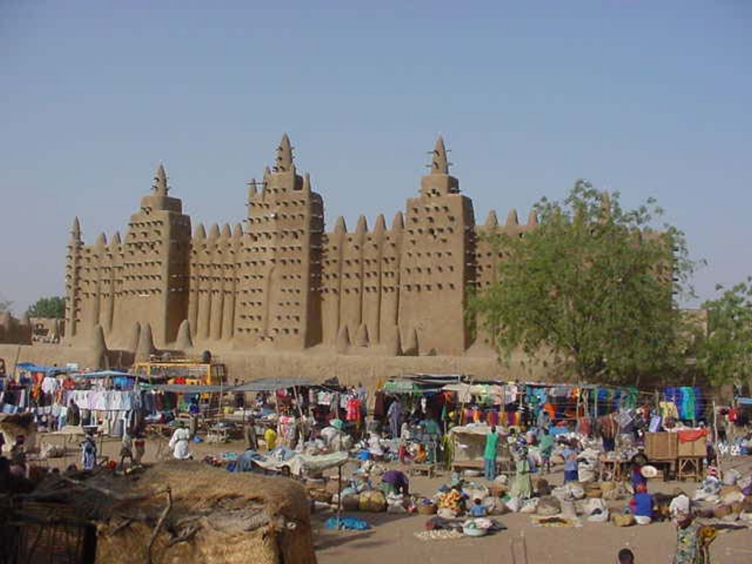 The Grand Mosque of Djenne