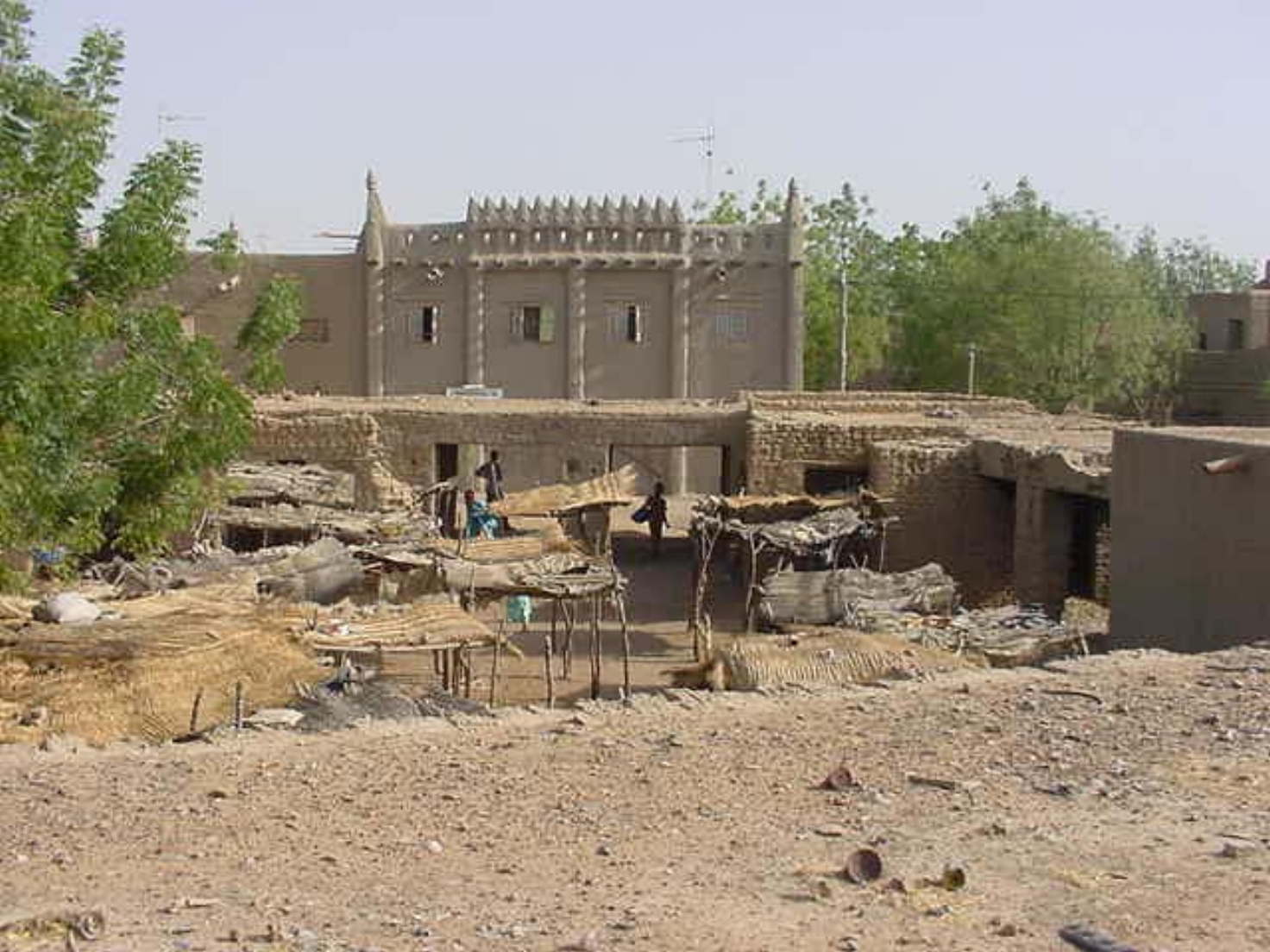 Mud structures of Djenne
