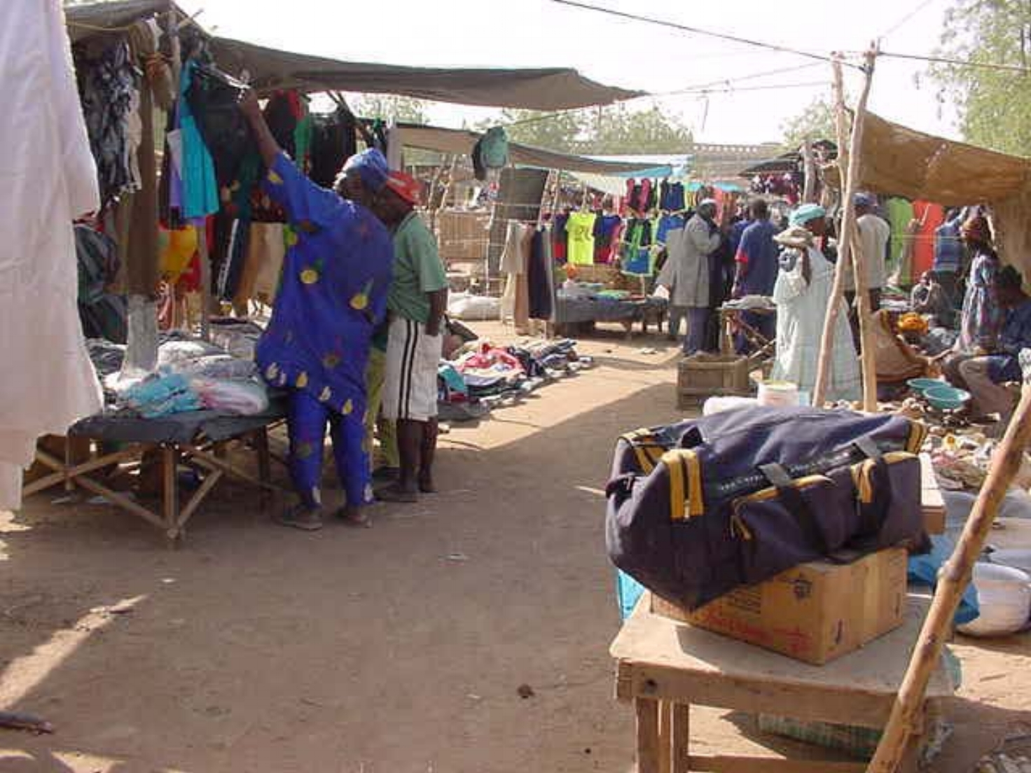 Market day in Djenne Mali