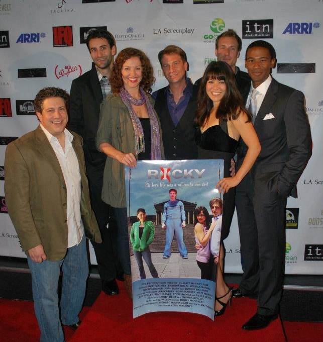 Cast of 'Ricky' at Beverly Hills Film, TV and New Media Fest