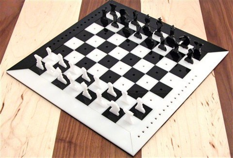 Laser Cut Acrylic Chess Set