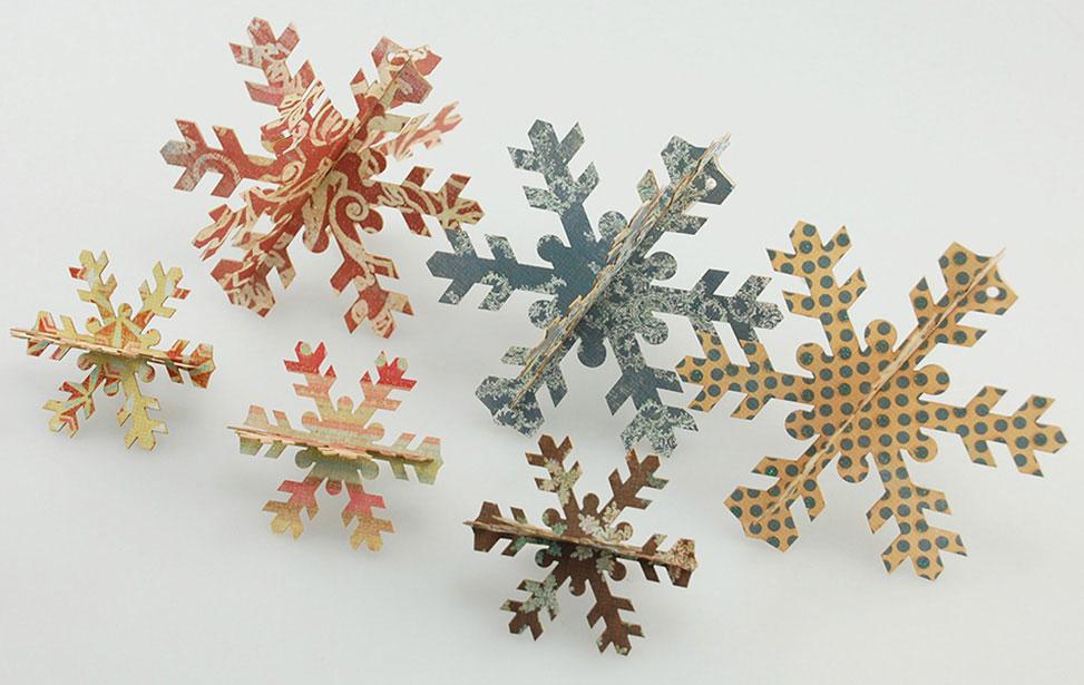 Paper Cut Snowflakes