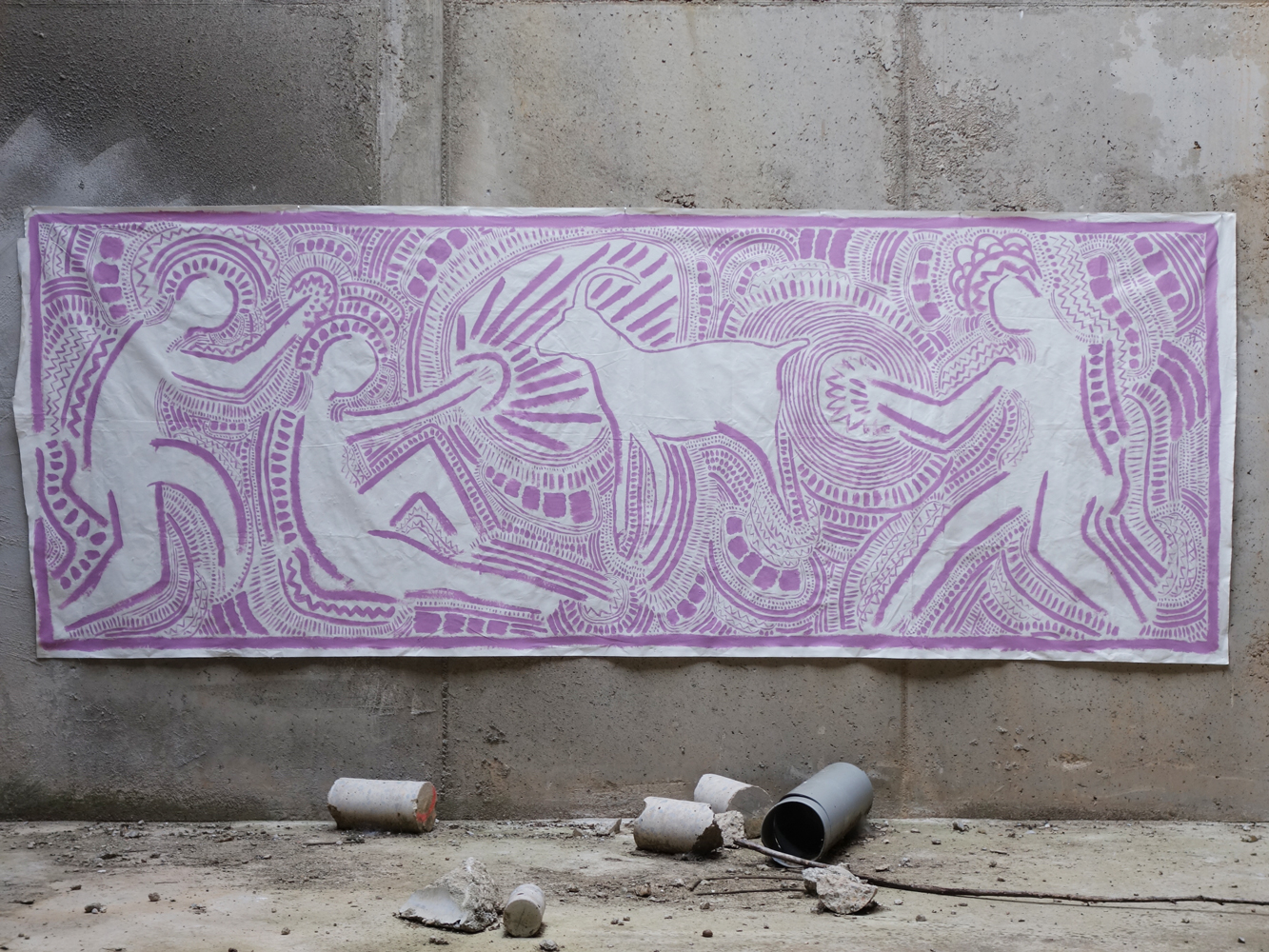 purple_pink_goat_abandoned_building_spain_2016_christopher_jewitt.jpg