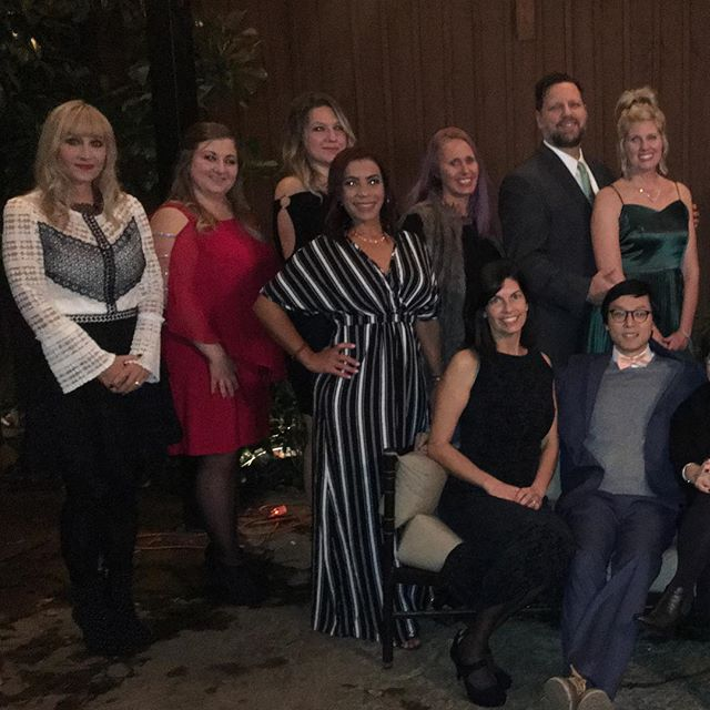 Office Christmas Party was magical at the House of Cards #smilemore #AlphaDental