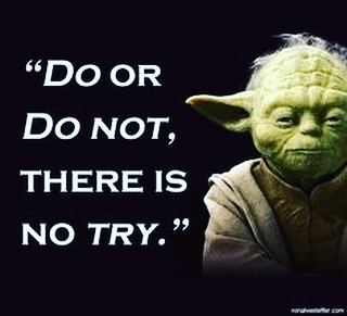 "We hear it all the time. ""I try to brush twice a day."" When it comes to proper home care - trying doesn't cut it. Just ask Yoda."