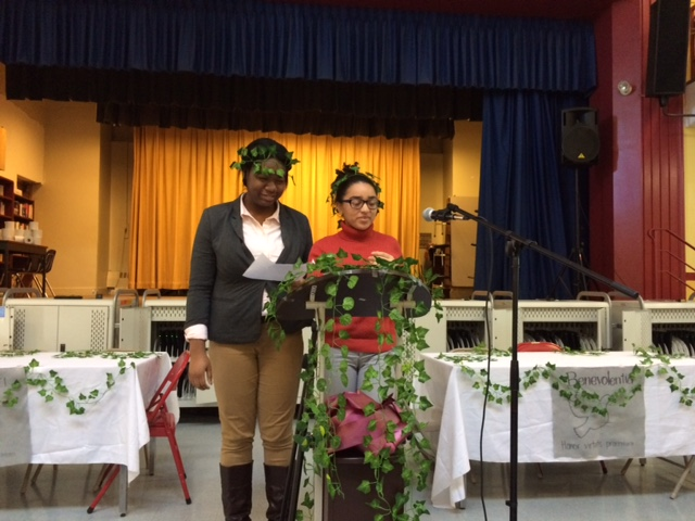 The annual tradition of Saturnalia - Boston Prep's recreation of the ancient Roman festival and banquet