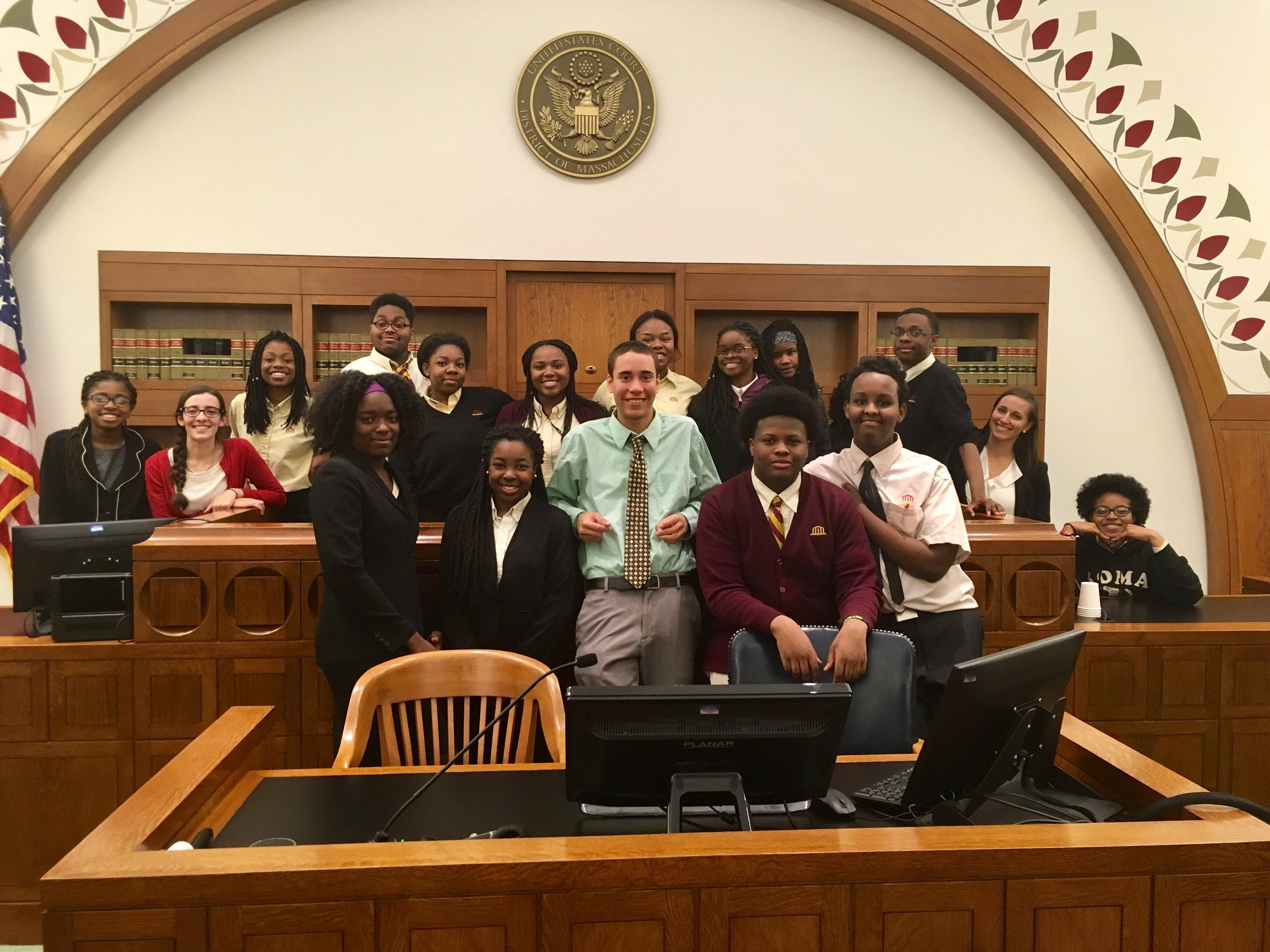The Mock Trial team had another fantastic season, beating out Brookline High School and Community Charter School of Cambridge and falling to the Winsor School by a mere 6 points.