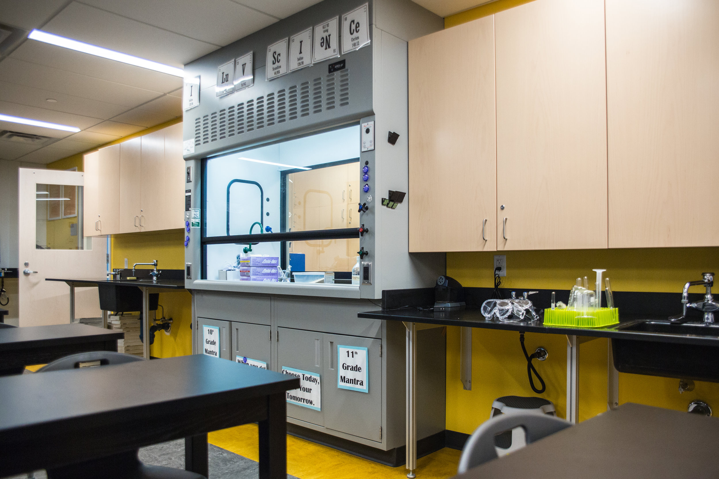 New science lab