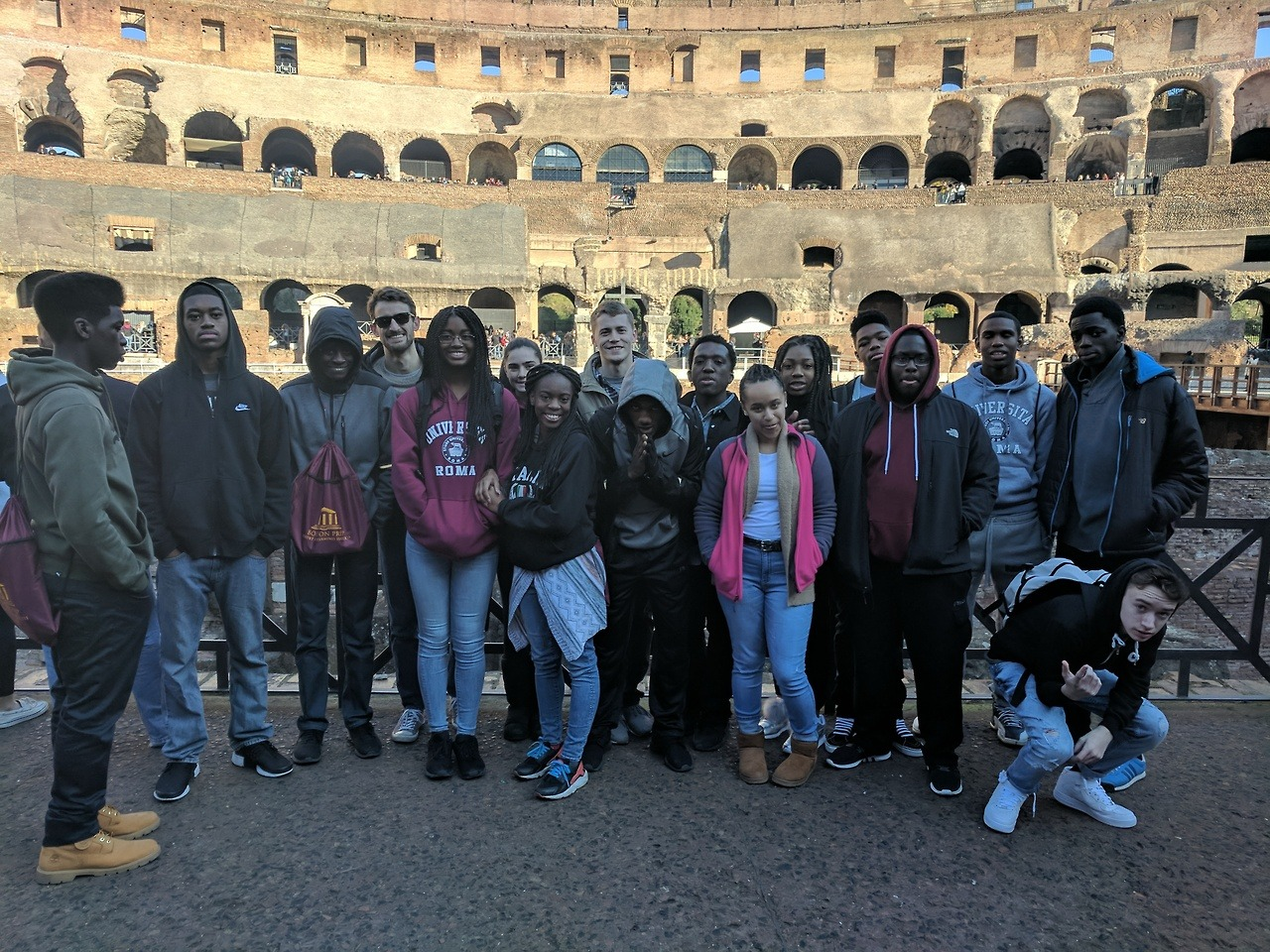 Juniors in Rome