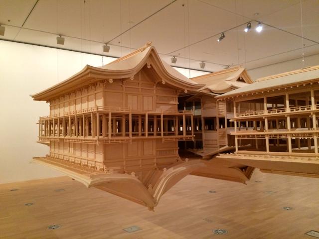 'Itsukushima Reflection model' by Takahiro Iwasaki at the NGV International