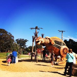 McNish Reserve Mimi the Dinosaur Playground