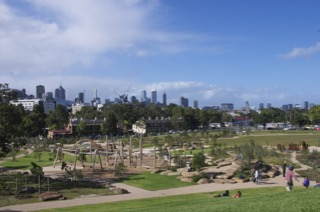 Royal Park Nature Play Playground