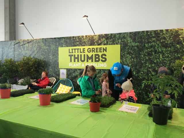 Plant a seedling at the Pets, Garden & Outdoor Living Pavilion