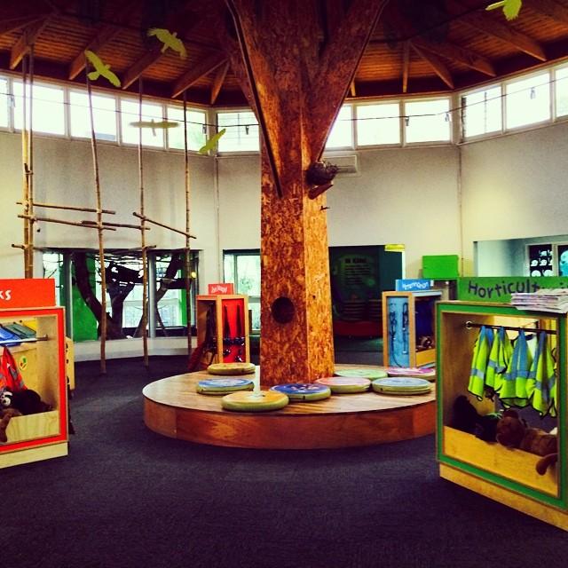 Melbourne Zoo Keeper Kids Area