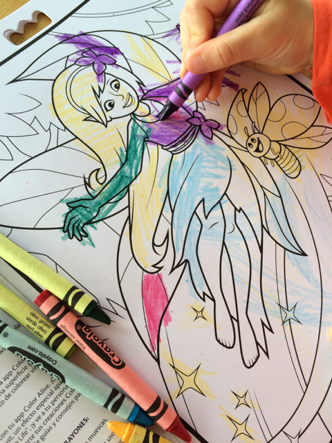 Crayola Color Alive - Enchanted Forest