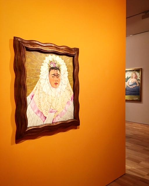 Frida Kahlo - Diego on my mind (Self-portrait as Tehuana) 1943 - photo @busycitkids