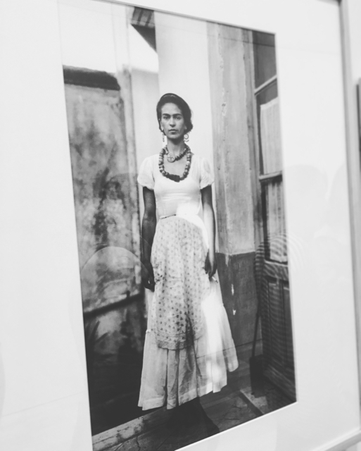 Frida Kahlo -Taken by her Father Guillermo Kahlo - photo @busycitykids
