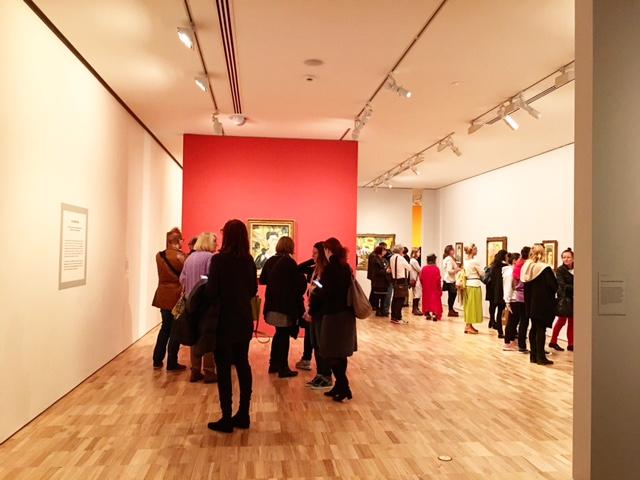 Frida Kahlo & Diego Rivera exhibition at Art Gallery of NSW - photo @busycitykids