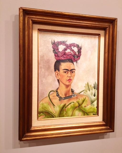 Frida Kahlo -Self-portrait with braid xxx 1941 - photo @busycitykids
