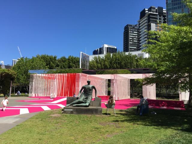 Neon Pink Car Wash NGV