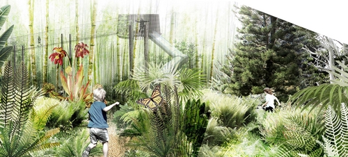 Design element: Jungle Play  Illustration credit: Centennial Parklands