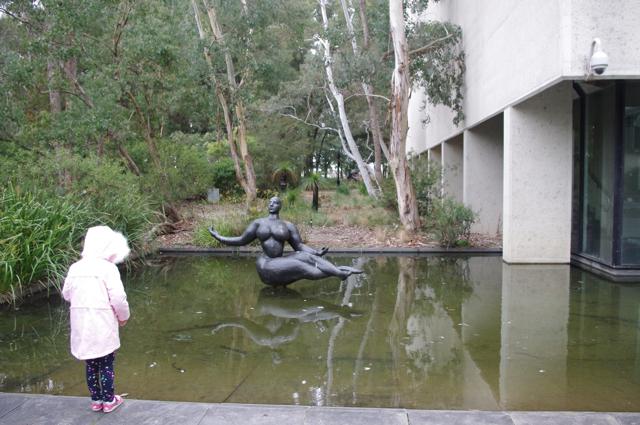 Gaston Lachaise's Floating Figure - Photo credit: @busycitykids