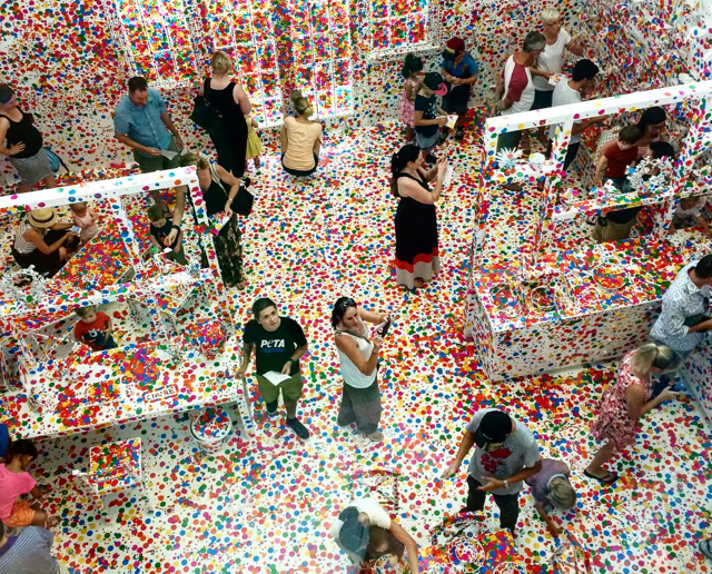 Photo credit: @busycitkids - Obliteration Room QAGOMA