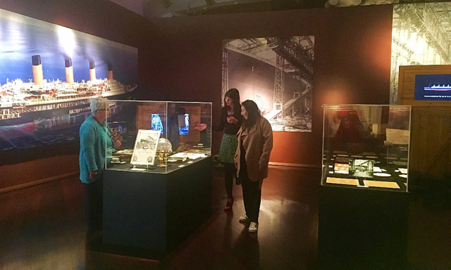 Photo credit: Titanic the Exhibition Facebook page
