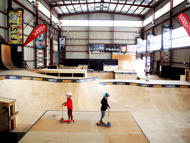 Ramp Kids Sessions at Rampfest - Melbourne - Review - Busy City Kids