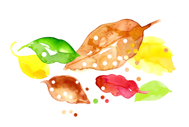 Leaf Confettis - Image Credit: Mailed With Love @mailedwithlove for @busycitykids