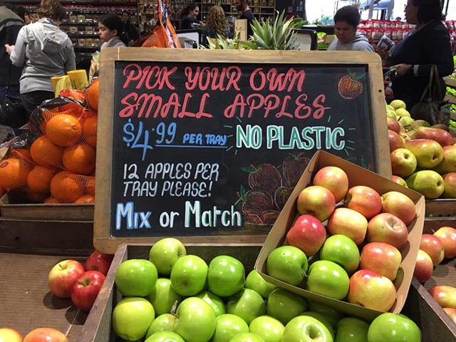 Plastic Free Fruit - Photo credit: @busycitykids