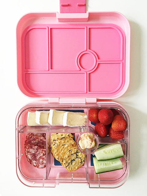 Nude Food lunch boxes - Photo credit: @busycitykids