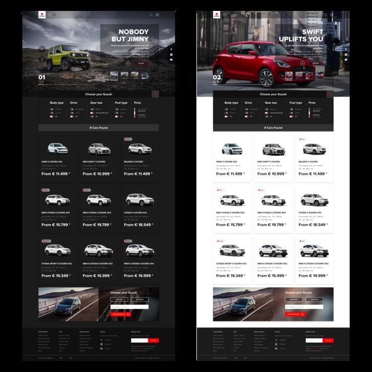 Suzuki Website — David Holik