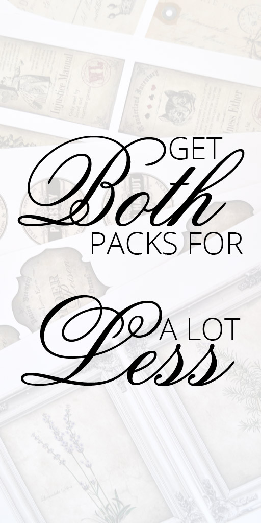 Get both packs for a lot less