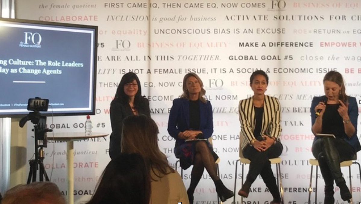 On January 23rd, our CEO Carolien de Bruin and Kari Aina Eik, Co-Founders of  WomenLed2030 , led a vibrant panel discussion on  'Achieving Smart, Sustainable Economic Growth in Cities Across the World: Women in the Lead'  at the  FQ Lounge , at the World Economic Forum.