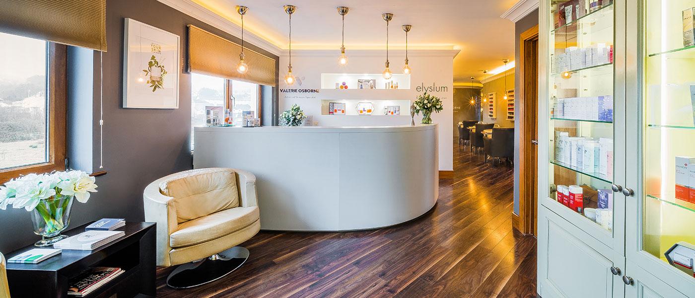 Elysium | Valerie Osborne Skincare Clinic Reception