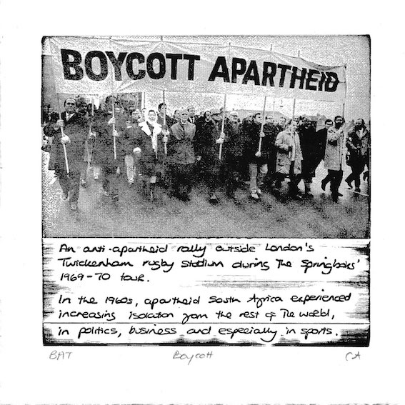 boycott, from the series 'fifty stories', 2010