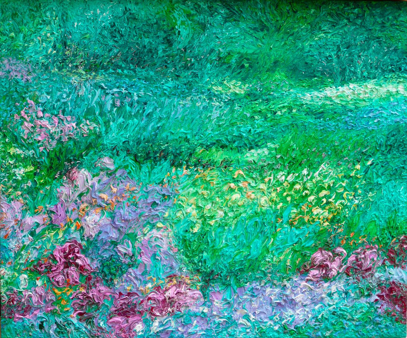 Ansgar Skiba, Garden, 2009, oil on canvas, 100 x 120 cm, courtesy of Galerie Seippel Köln.JPG