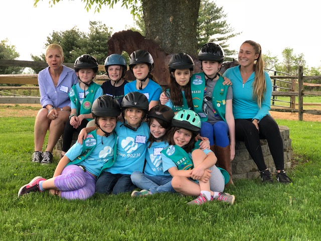 Girl Scouts from both Troop 90234 & 60295
